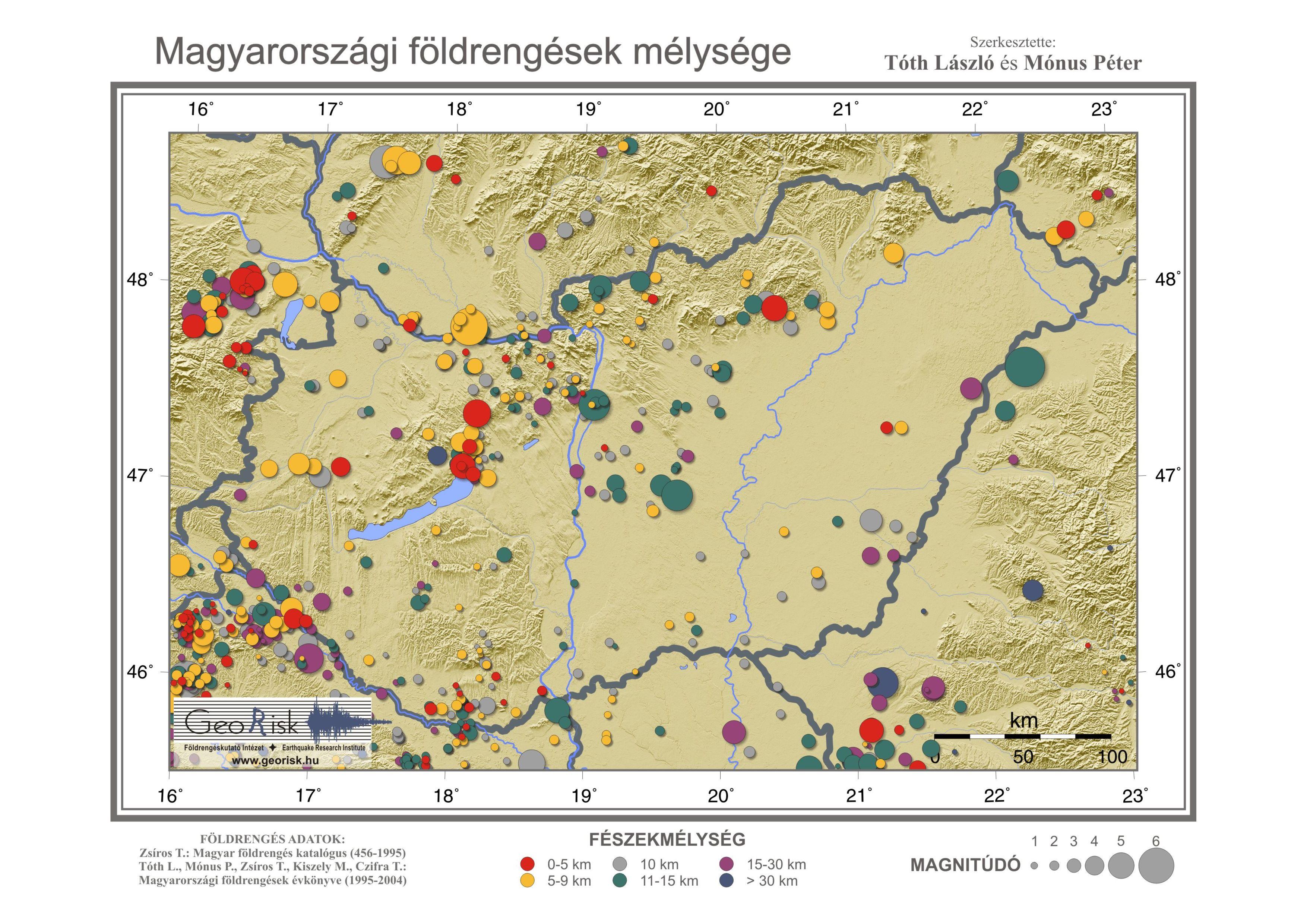 földrengés térkép magyarország Earthquake Maps / Földrengés térképek földrengés térkép magyarország